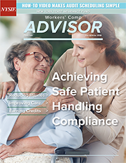 Cover of NYSIF second quarter Workers' Comp Advisor newsletter.
